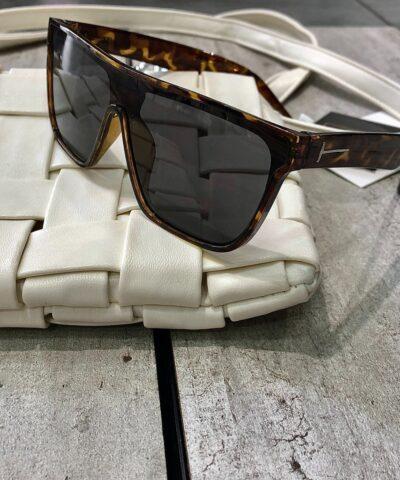 Τετράγωνα leopard γυαλιά (9034)