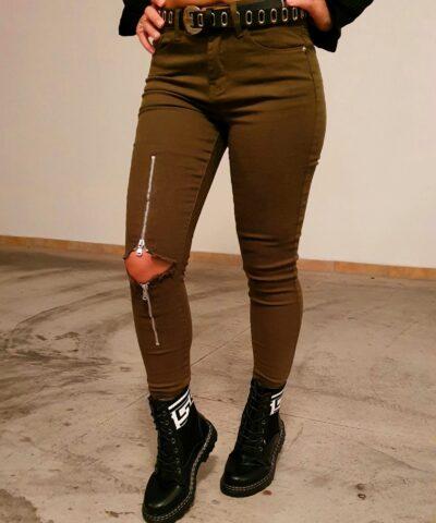Παντελόνι με σκίσιμο (3049)