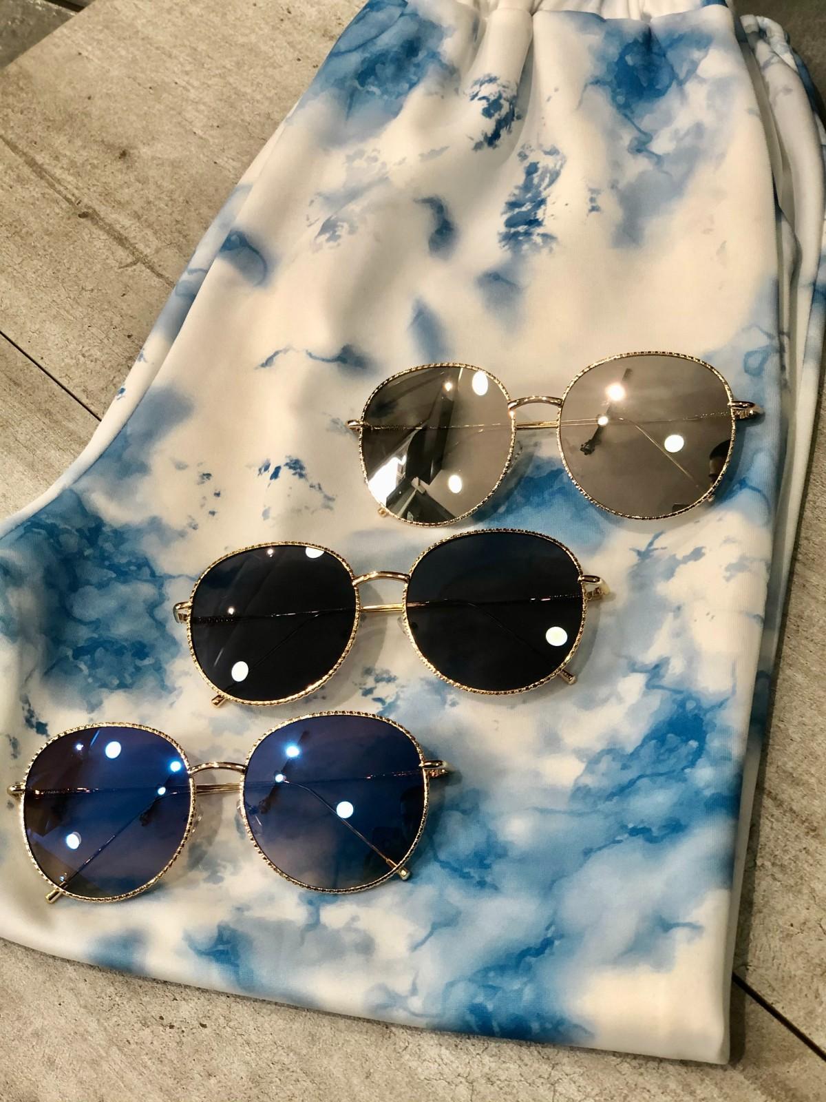 Γυαλιά ηλίου στρογγυλά μεταλλικά (9032)